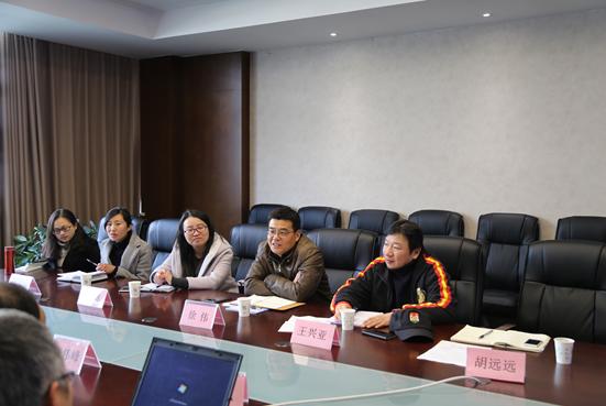 徐伟副院长赴苏州经贸职业技术学院交流学习